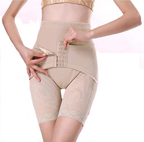 SHANGXIAN Damen Shapewear Short Schenkel Bauch Steuerung Abnehmen Körperformer Unter Kleid Höschen,Skin,XXXL (Höschen Damen Bauch-steuerung)