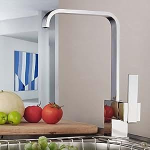 Für moderne Wasserhähne Küche nur Küchenarmatur Griff aus Messing (verchromt)