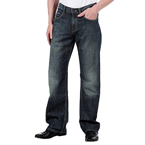 Mustang -  Pantaloni sportivi  - Uomo blu W30/L34