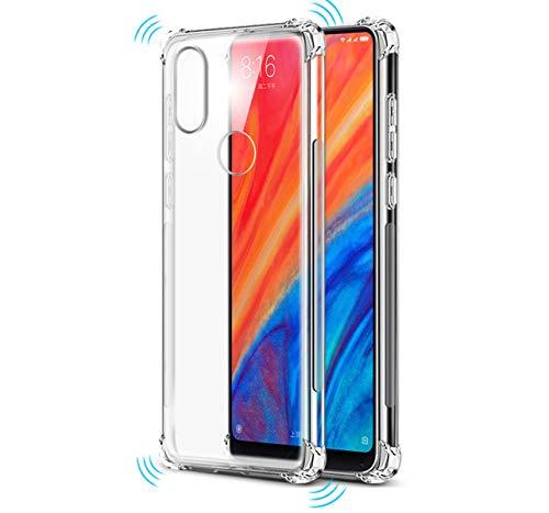 Tumundosmartphone Funda Gel TPU Anti-Shock Transparente para XIAOMI MI Mix 2S