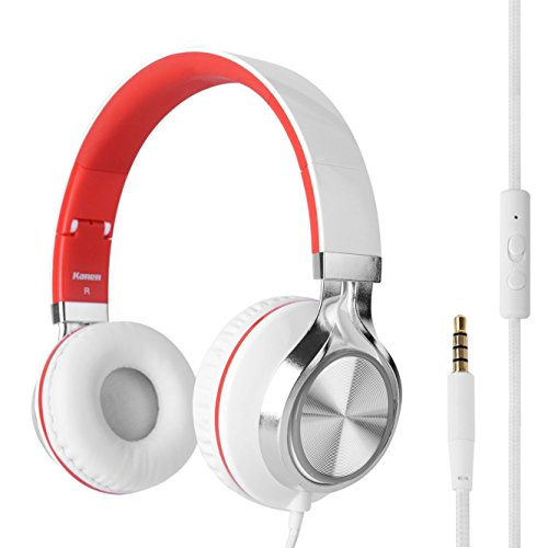 rockpapa-over-ear-kopfhorer-headphone-kraftvoller-stereo-sound-mit-mikrofon-verstellbar-faltbare-hea