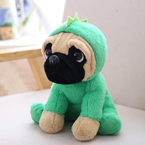 NOVELOVE Plüsch Spielzeug Simulieren Sandhund Puppe Geschenke 20cm Dinosaurier Kostüme (Dinosaurier Puppe Kostüm)