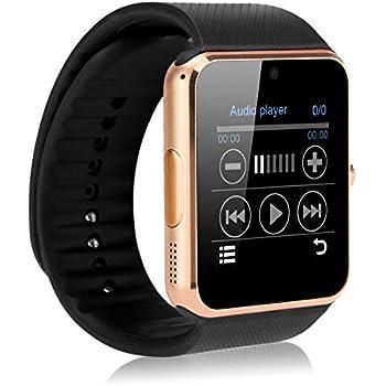 Smart Watch Smartwatch GT08 Bluetooth Reloj Móvil gsm SIM para LG G3, G4, G5, G6, X Power 2, k 2017, K3, K4, K5, K7, K8, K10 Q6 Q8 Color Gold
