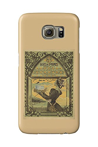 Hotel de Londres Vintage Poster (artist: Mataloni) Italy c. 1897 (Galaxy S6 Cell Phone Case, Slim Barely There) (Londres Hotel)