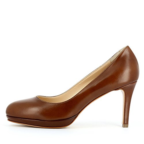 Evita Shoes - Bianca, Scarpe col tacco Donna cognac