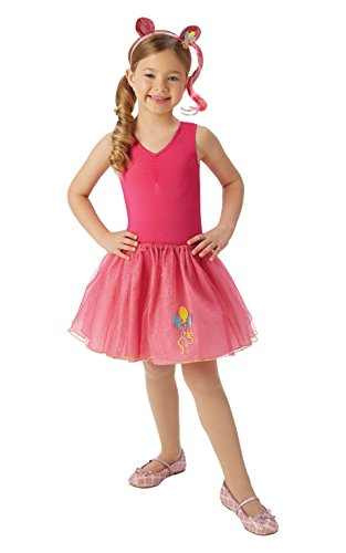 My Little Pony Kinder Pinkie Pie Tutu und Haar Band Set (One Size, 4–8 Jahre) (My Little Pony Halloween-kostüme)