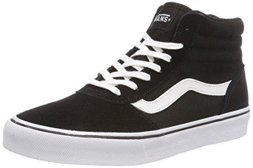 Vans Damen Maddie HI Suede/Canvas Hohe Sneaker, Schwarz Black/White Iju, 40 EU