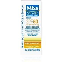 Mixa Solaire Peau Sensible - Crème Solaire Tolérance Optimale SPF 50-75 ml