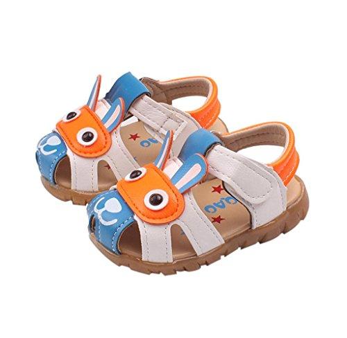 Covermason Kinder Baby Junge Sandalen Karikatur Schuhe Mit Blinkleuchten Blau