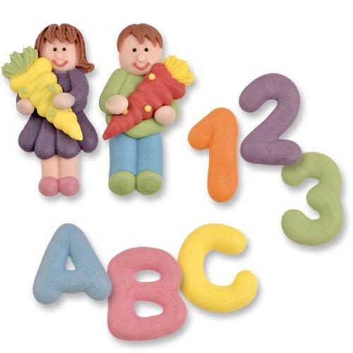 8 Zuckerfiguren für den Schulanfang | Schulanfang Figuren | Schulanfang Torte