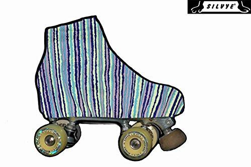SILVYE Bedruckte Skateboard-Überzüge für ältere Rollschuhe, 00009, Talla S