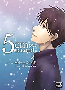 5cm Per Second Edition simple Tome 2