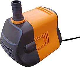 MLD® Water Lifting Submersible Pump | For Desert Air Cooler | Aquarium | Fountains |12W | 1.8 m(Multicolor)