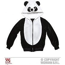Lindo Chaqueta / Chaqueta sudadera / Chaqueta con capucha / Traje de animal como Panda / Oso panda / Disfraz de panda con capucha Talla S / M