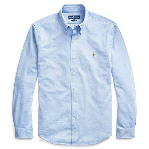 Polo Ralph Lauren Camisas herern Oxford Classic Fit Azul M 5b398398c827