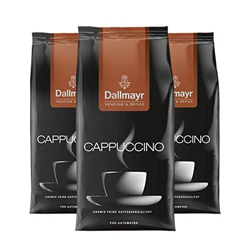 Dallmayr Cappuccino 1kg für Automaten, 3er Pack
