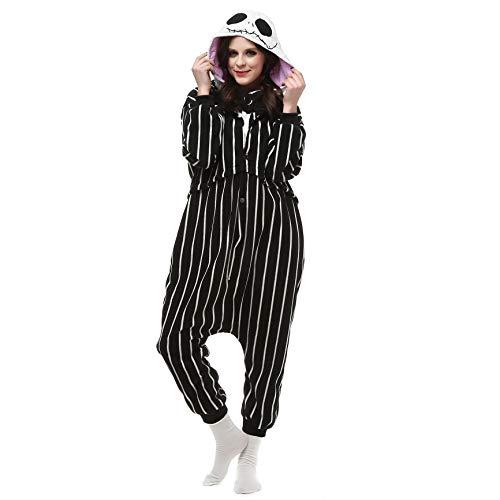 ge Erwachsene Unisex Animal Cosplay Overall Pajamas Anime Schlafanzug Jumpsuits Spielanzug Kostüme ()