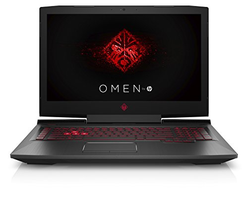 "Omen 17-an101ns - Ordenador Portátil 17.3"" FullHD (Intel Core i7-8750H, 16 GB RAM, 1 TB HDD, Nvidia GeForce GTX 1050 4 GB, Windows 10), Color Negro - Teclado QWERTY Español"