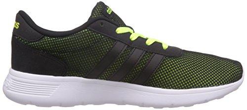 adidas - Lite Racer, Sneaker Uomo Nero/Lime