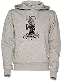 Jergley Non Dieu mais Te Unisexe Gris Sweat-Shirt Sweat À Capuche Homme  Femme   c8296354405