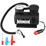 Akozon Pompe pneumatiche per compressori mobili Mini Pompa per auto portatile 12V Van Compressore d'aria 300PSI Pompa per gonfiaggio pneumatici