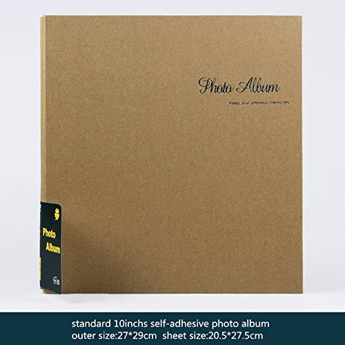 Wbxtt Selbstklebende Version des Albums Multi - Farbe Kiefer Blätter Film Foto Jahrbuch Bild Album Schweißen Geschenke E