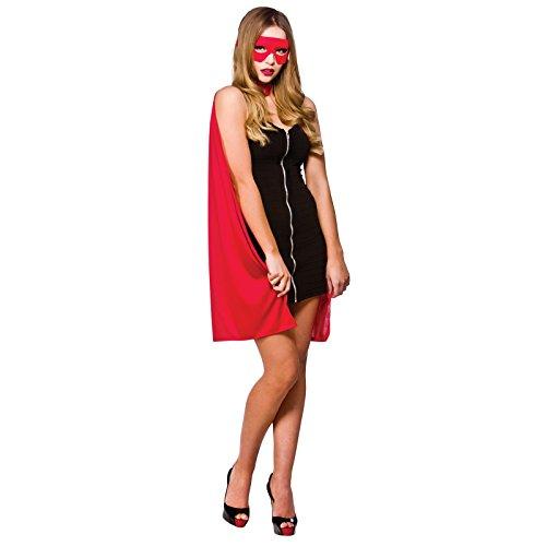 Super Hero Cape Long - Red