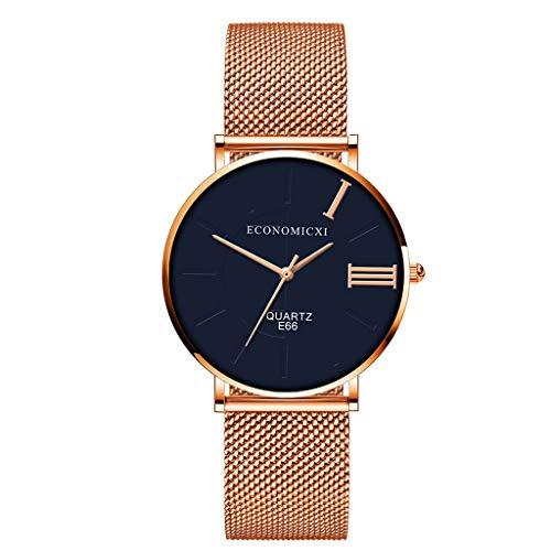 Smart Watch Maille Ceinture Montre à Quartz Intelligente Horloge Bracelet de la Mode Hommes et Femmes en Général Casual