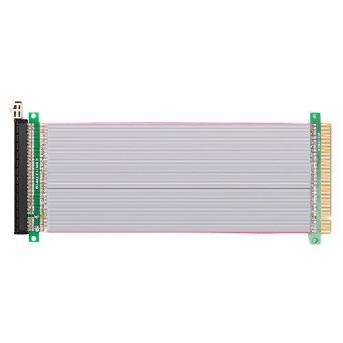 PCI-E Express 16X bis 16x Stecker auf weibliche Riser Extender Card Ribbon Kabel 20cm