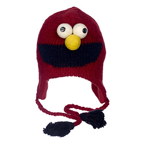 Fair Trade Tiermützen Strickmütze Elmo Sesame ()