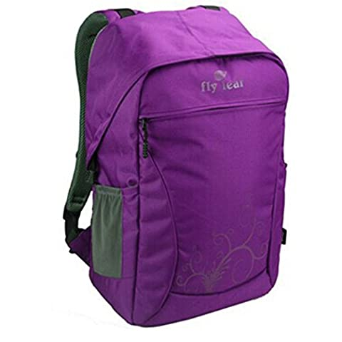 Travel Photography Pack Outdoor Nylon Waterproof Camera Bag for Canon Nikon DSLR Rucksack Multi-Color Fashion Backpack H48 x L30 x 20 CM , Purple