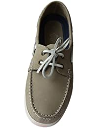 Amazon.fr   Gris - Chaussures bateau   Chaussures homme   Chaussures ... 6cc81ad10a98