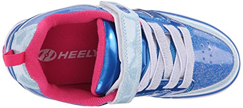 Heelys BOLT PLUS X2 2016 ice blue/silver/pink ice blue/silver/pink