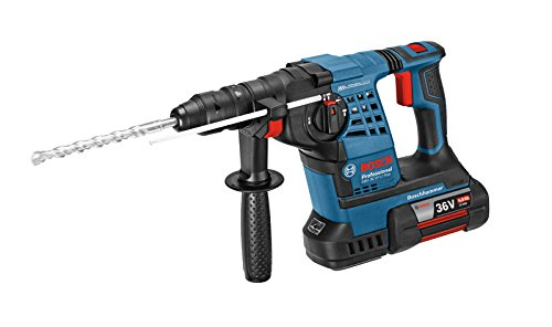 Preisvergleich Produktbild Bosch Professional GBH 36 VF-LI Plus Akku-Bohrhammer, 2 x 4,0 Ah Akku, SDS-plus Wechselfutter, 36 V, L-Boxx, 0611907002