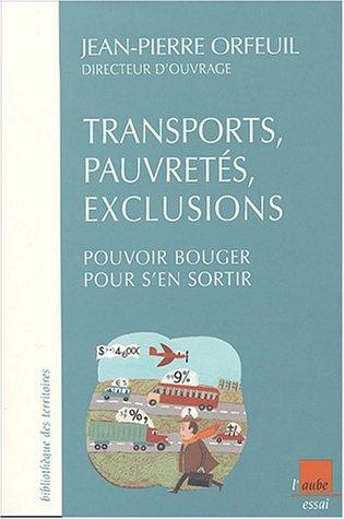 Transports, pauvretés et exclusions