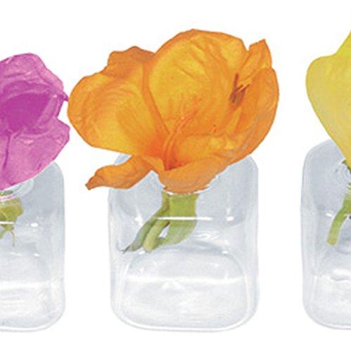 12 x tavolo vaso in vetro per fiori tavolo decorazione MATRIMONIO per fiori