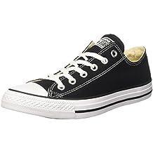 Converse Chuck Taylor All Star Ox, Zapatillas de Lona, Unisex, Negro, 39.5