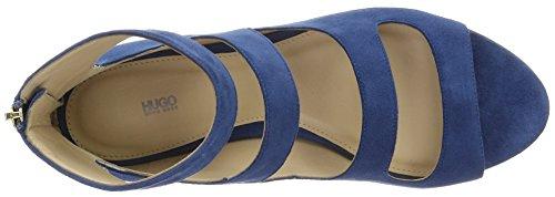 Hugo Dalia 10195652 01, Sandales Bout Ouvert Femme Bleu (Medium Blue 428)