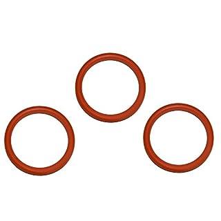 SW-K 3 Stück O-Ring Dichtung geeignet für Delonghi AEG Philips für die Brüheinheit Brühgruppe Anpresskolben Kolben und Thermoblock Heizung