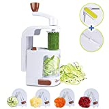 Best Spiralizers - Domserv Mini Spiraliseur de Légumes Verticale Trancheuse Spirale Review