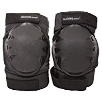 Lord Skates Knee And Elbow Protective Pad Set Large, Black