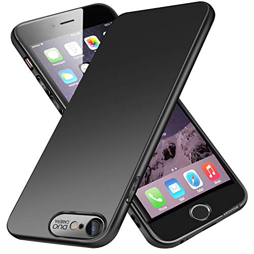 VIVK Cover iPhone 6/6s,[Look in Fibra di Carbonio] Custodia...