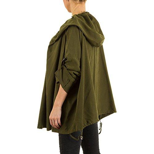 Ital-Design - Blouson - Femme Vert