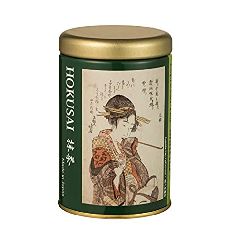 TOKYO MATCHA SELECTION TEA - Hokusai tea : Kyoto Matcha (Stick type) * Sukeroku to Yujo 4.8g/0.17oz (0.6g/0.02oz*8p) [Standard ship by SAL: NO Tracking & Insurance]