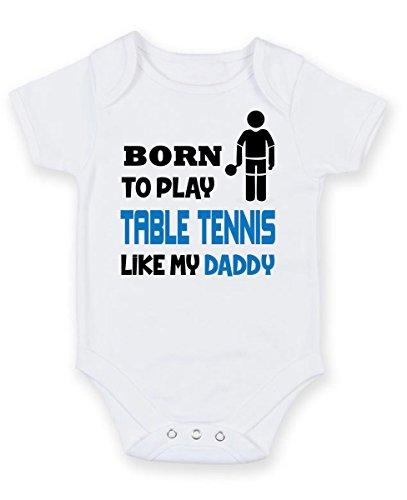 Baby-Body 0-18 Monate 7 Farben Dressdown Vielleicht Sehe ich aus als w/ürde ich dir zuh/ören Aber in Meinem Kopf denke ich an Tennis