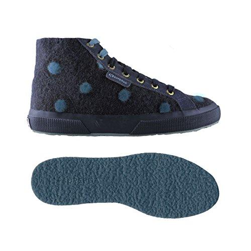 Superga Superga 2795-WOOLBIGPOISW BLUE-OTTANIO BLUE-OTTANIO