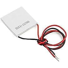 Celula Peltier Termoelectrica Ceramica TEC1 12706 12V 60W 6A Disipador Enfriador