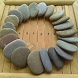 15 Strand Steine 2-4 cm zum Basteln von dem Irischen Meer by Filao7