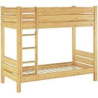 Erst-Holz® Etagenbett für Erwachsene Kiefer 90x200 Rollrosten Nische 100 Massivholz-Stockbett 60.16-09 preisvergleich bei kinderzimmerdekopreise.eu