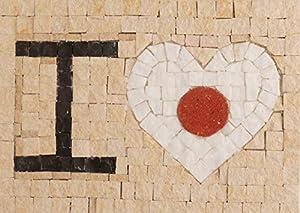 Trois petits points Juego de 3 pequeños Puntos de Mosaico Completo M Love Japan-Maxi, 6192459601120, Universal